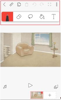 Как нарисовать приложение Лайк, картинки